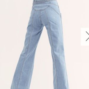 FP immaculate flare jeans